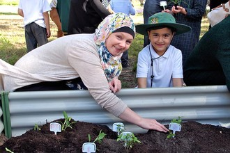 Students Plant for The Planet <br/>(Officer)